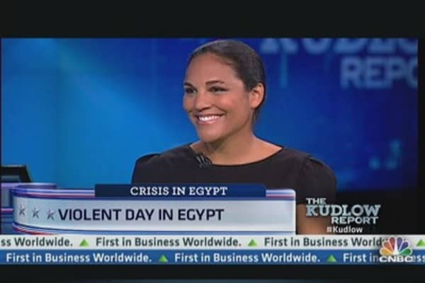 Violent Day in Egypt