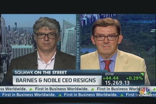 Barnes & Noble CEO Resigns