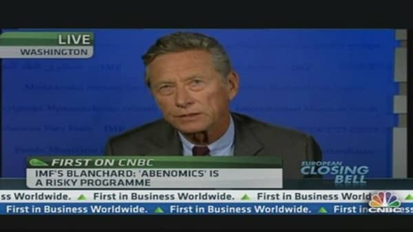 Europe Still Has a Lot to Do: IMF's Blanchard