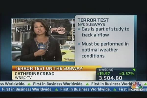 Terror Test on the Subway