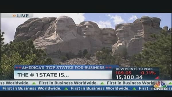 America's Top State for Business: South Dakota