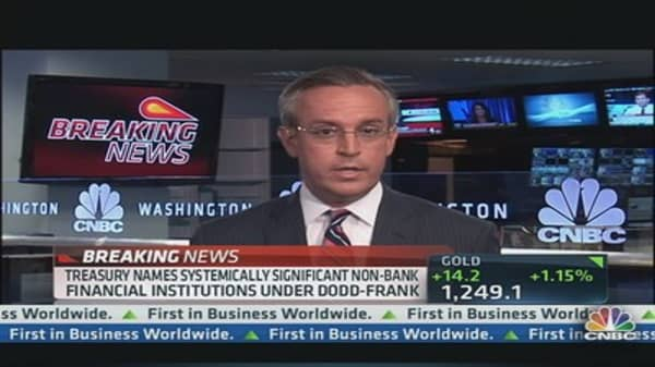 AIG & GE Capital Subject to Dodd-Frank Supervision