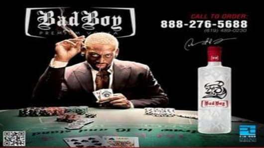 Dennis Rodman's Bad Boy Vodka