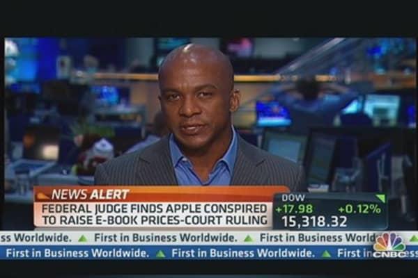 Apple Loses E-Book Case