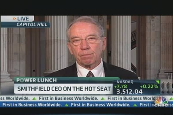 Smithfield CEO on the Hot Seat