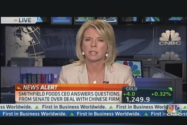 Smithfield Foods Answers Questions from Senate
