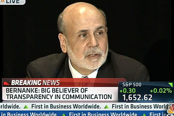 Bernanke: 'Highly Accommodative' Policy Needed for 'Foreseeable Future'