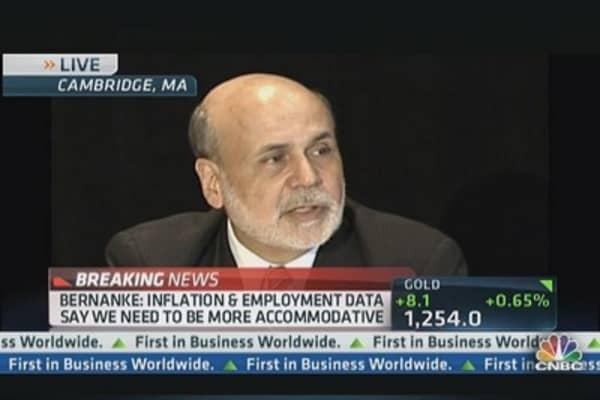 Bernanke: 'Big Believer of Transparency in Communication'