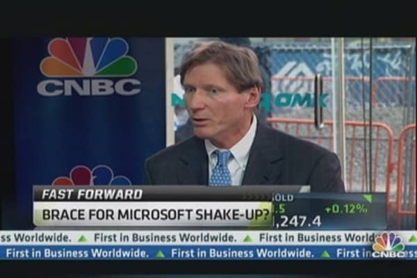 Could Microsoft See a Shakeup?