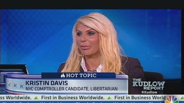 Kristin Davis: My Background is Finance