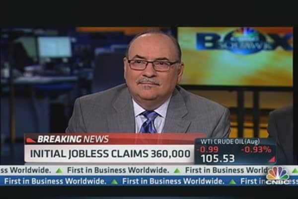 Initial Jobless Claims Up 16,000 to 360,000