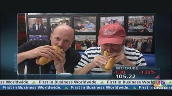 Cramer Shares His Vaca Pixs