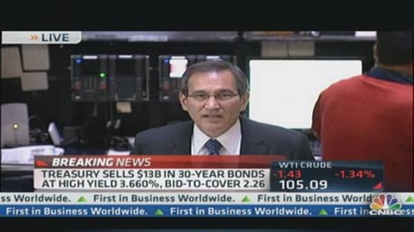 30-Year Bond Auction Results