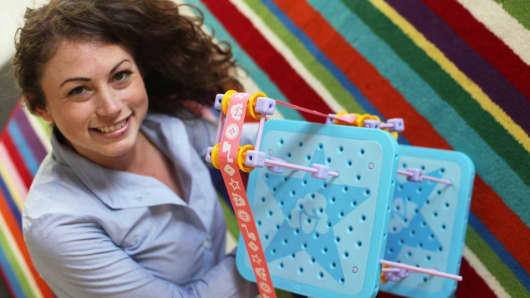 GoldieBlox founder Debbie Sterling.