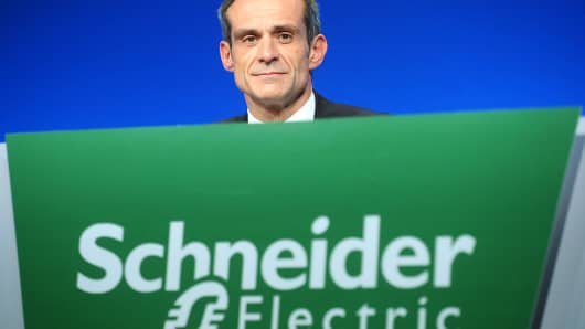 Jean-Pascal Tricoire, CEO of Schneider Electric
