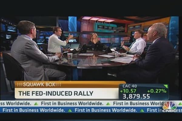 Sizing Up the Fed-Induced Rally