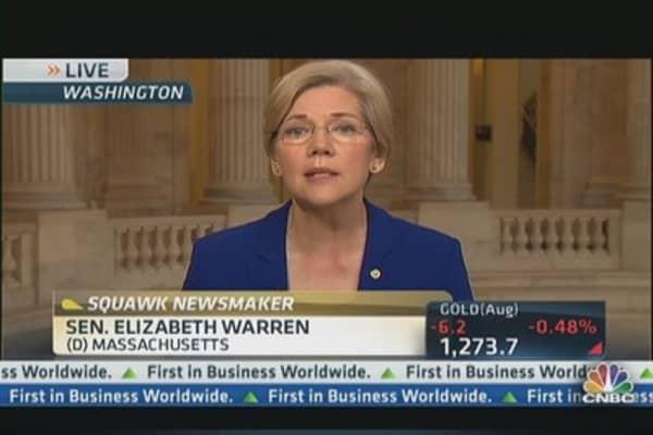 Warren vs. Dimon on Breaking Up Big Banks