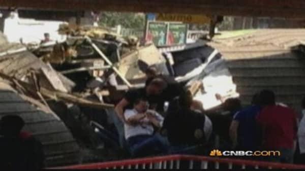 Train Derails In France, 7 Killed