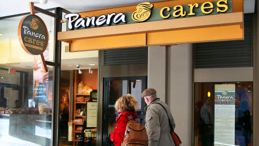 Panera Cares nonprofit cafés operate in five cities.