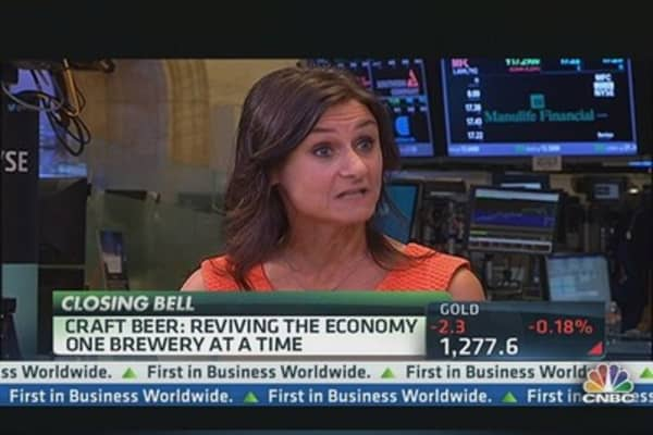 The Beer Industry is Brewing