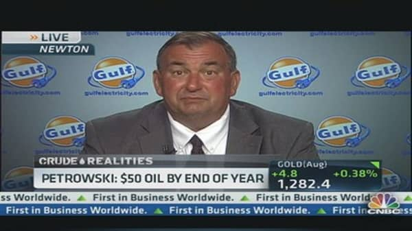 Oil at $50 by end of year: Expert
