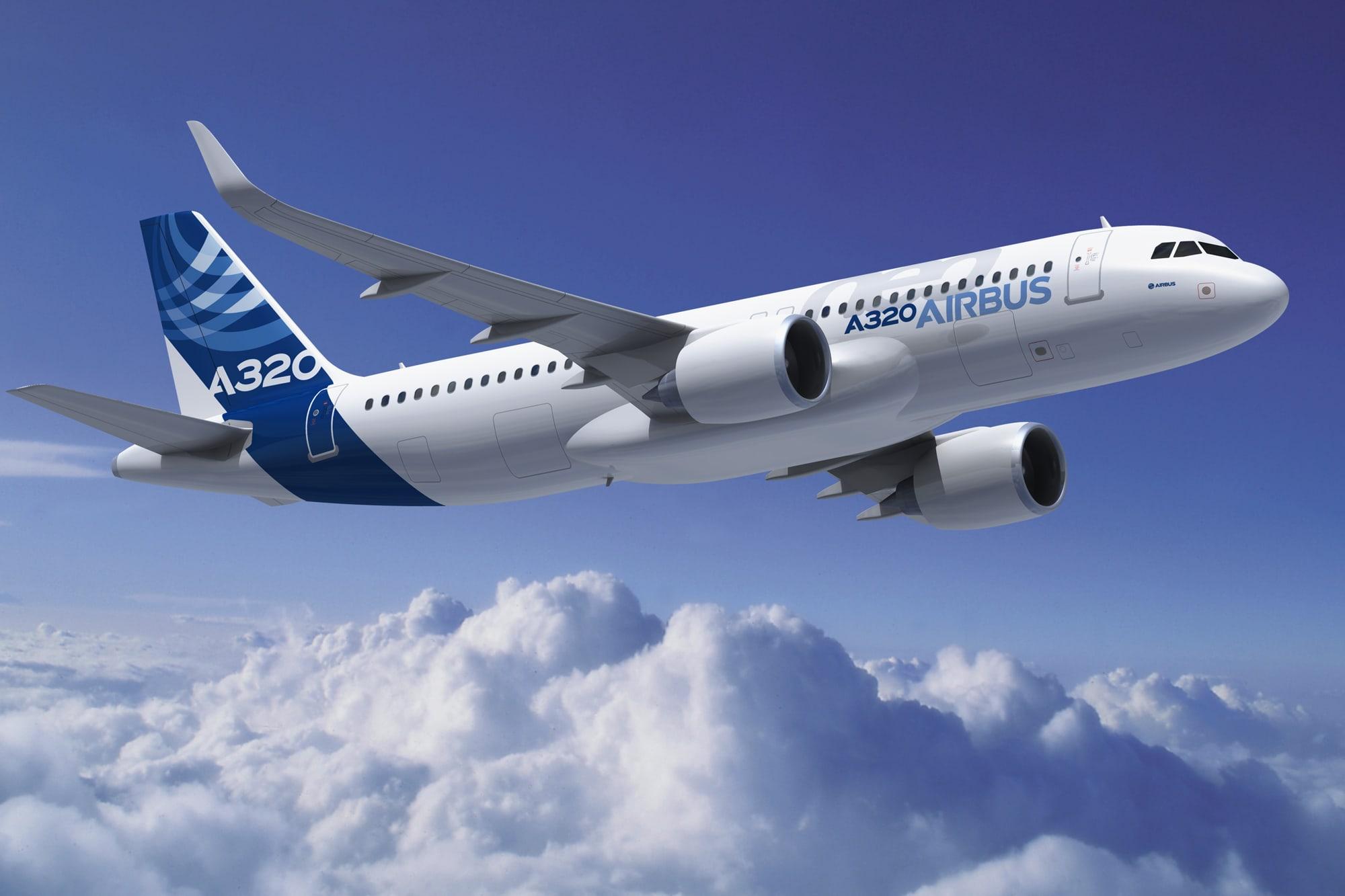Airbus 320 - the leader of European passenger air traffic 26