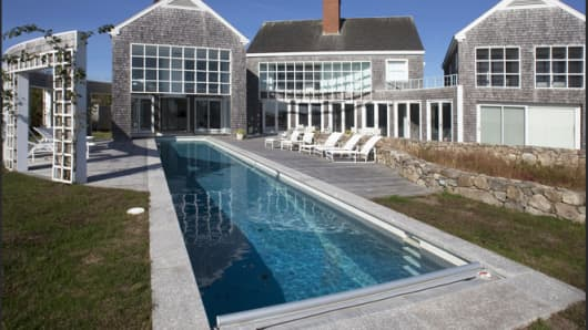 The 314-acre Homer's Pond property on Martha's Vineyard is on the market for $118 million.