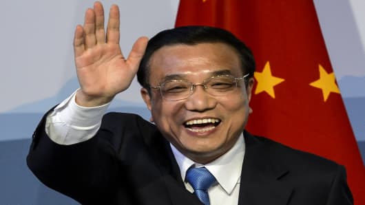 Chinese Prime Minister Li Keqiang