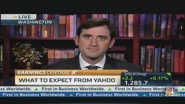 Look ahead to Yahoo's earnings