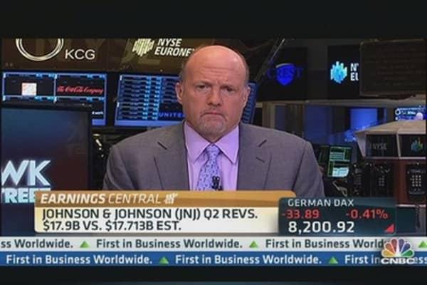 Cramer's stocks to watch: JNJ, KO & GS