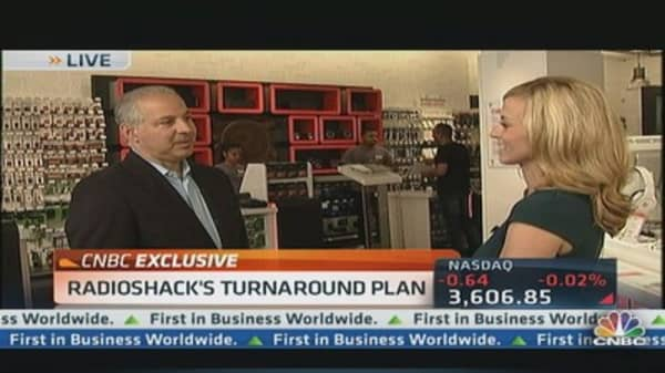 RadioShack CEO reveals game plan
