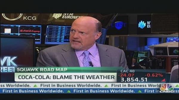 Coke vs. Pepsi: Cramer picks a winner