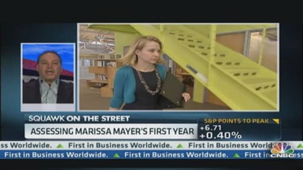 What's Marissa Mayer's plans for Yahoo?