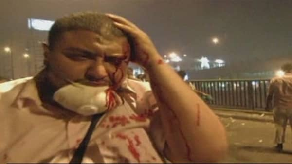 Clashes overnight in Egypt