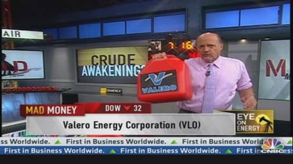 Valero is real cheap: Cramer