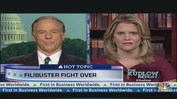 Filibuster fight over