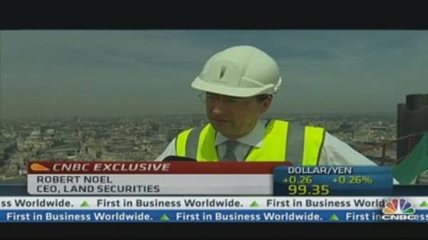 Land Securities's outlook is strong: CEO