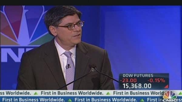 Jack Lew: Dodd-Frank didn't stifle growth