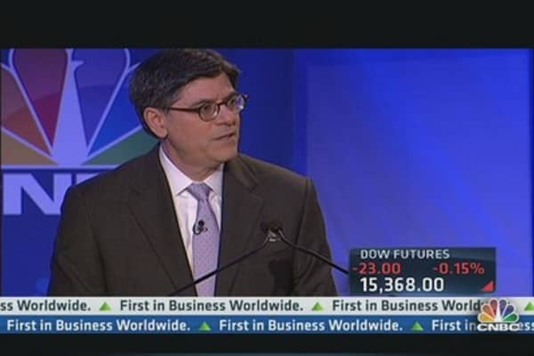 Jack Lew: Dodd-Frank didn't stifle growth