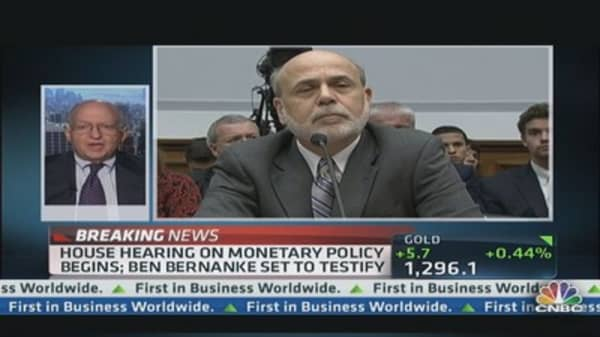 Tapering on table with Bernanke