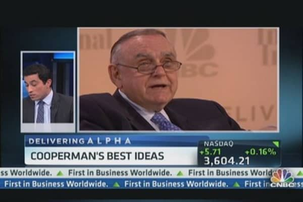 Delivering Alpha: Cooperman's best ideas