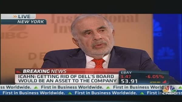 Icahn: Never seen a board as bad as Dell's
