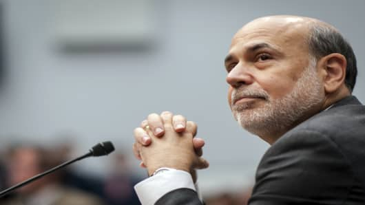 Ben Bernanke, chairman of the U.S. Federal Reserve