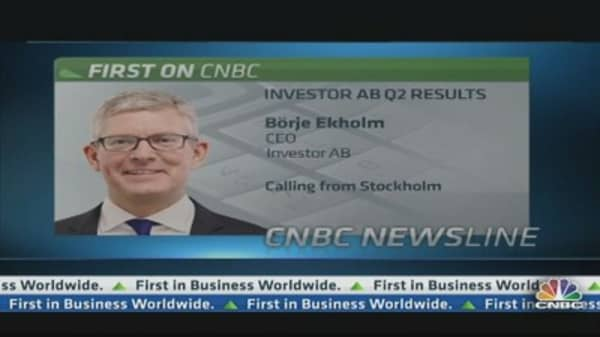 US remains key area for Investor AB: CEO