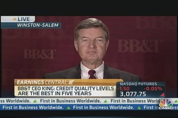 BB&T beats Q2 estimates