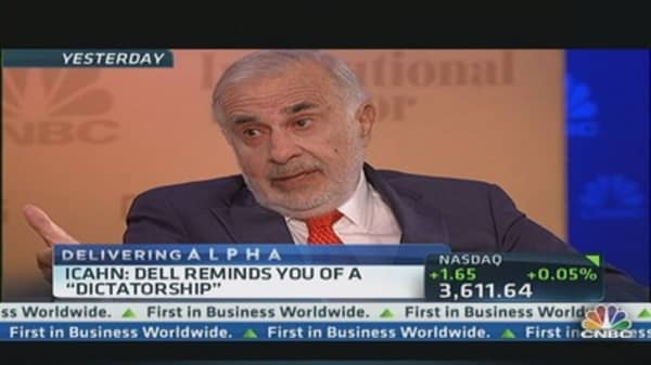 Icahn: I would really like to own Dell
