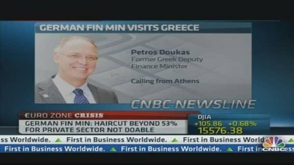 Greece needs 5 billion euro: ex-minister