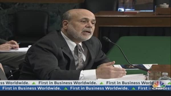 Bernanke addresses key housing, gold, & bank issues