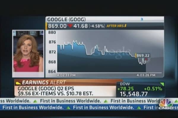 Google reports Q2 earnings