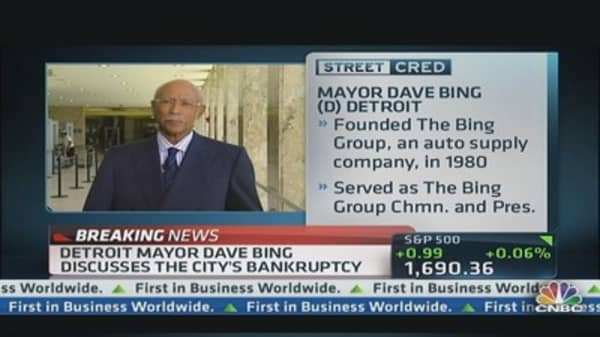 Detroit Mayor: We can't cut our way back